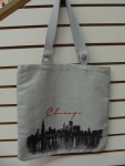 Skyline Canvas Tote