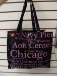 Chicago Black and Pink Attractions Bag