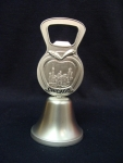 Chicago Apple Bottle Opener Bell