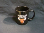 Chicago Bulls Black Mug