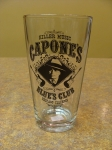 Capone's Blues Drinking Glass