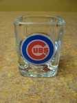 Cubs Square Shot Glass