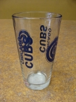 Chicago Cubs Drinkin Glass