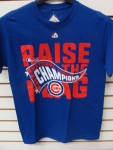 Chicago Cubs Raise The Flag National Champs T-shirt