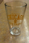 Chicago Pub Crawl Drinking Glass
