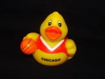 Chicago Basketball Rubber Ducky