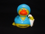 Chicago Rainy Rubber Ducky