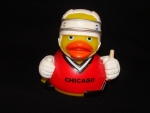 Chicago Hocky Rubber Ducky