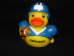 Chicago FootBall Rubber Ducky