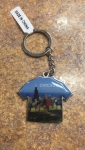 Chicago T-shirt Shaped Keychain
