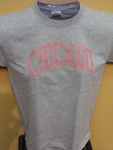 Chicago Glitz Pink Lettering Grey