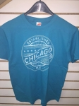 CHICAGO TEAL T-SHIRT