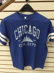 BOYS BLUE CHICAGO JERSEY T-SHIRT
