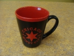 Chicago Windy City Red And Black Mug