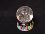 Color Splash Medium Snow Globe