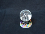 Mini Color Splash Snow Globe