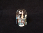 Mini Color Skyline Snow Globe