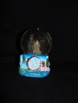 Chicago Medium Skyline Hand Painted Snow Globe