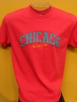 ChicagoMy Kind Of Town Hot Pink T-shirt