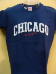 ChicagoMy Kind Of Town Navy T-shirt