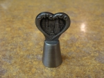 Chicago Heart Shape Skyline Thimble